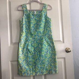 Lilly Pulitzer shift dress (vintage pattern)